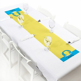 Ducky Duck - Personalized Party Petite Table Runner