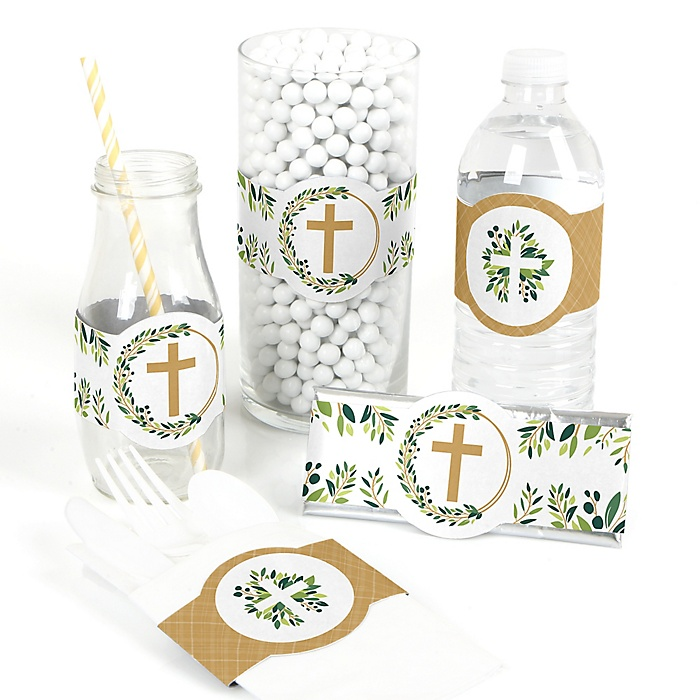 Elegant Cross - DIY Party Supplies - Religious Party DIY Party Favors & Decorations - Set of 15