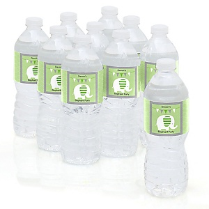 Elephant - Personalized Party Water Bottle Sticker Labels - Set of 10