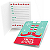 Elf Squad - Fill In Kids Elf Christmas and Birthday Party Invitations - 8 ct