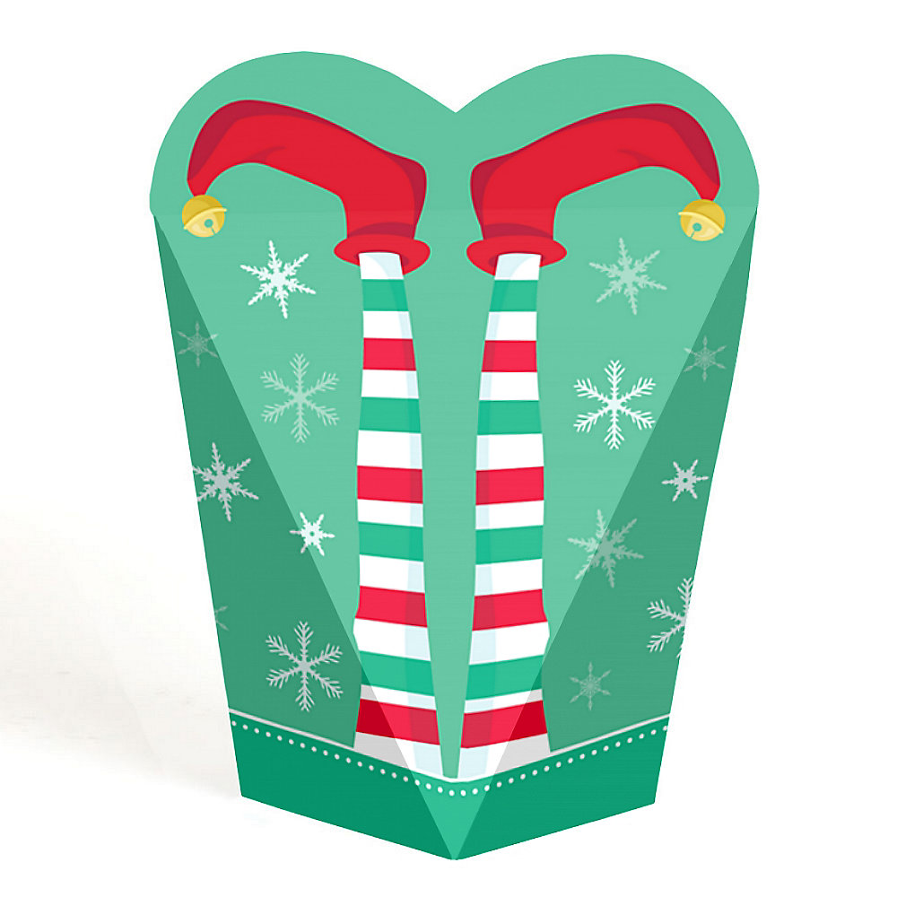 Elf Squad Kids Elf Christmas And Birthday Party Favors Gift Favor Boxes For Women Kids Set Of 12