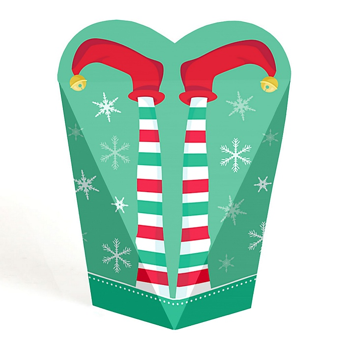 Elf Squad - Kids Elf Christmas and Birthday Party Favors - Gift Favor Boxes for Women & Kids - Set of 12