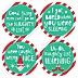 Elf Squad – Holiday and Christmas Elf Notes - Sticker Set of 12