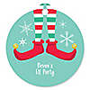Elf Squad - Kids Elf Christmas and Birthday Party Favor Gift Tags - Set of 20