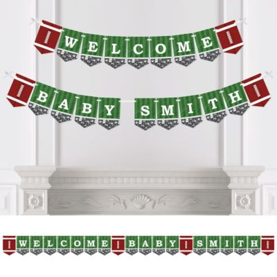 End Zone   Football   Personalized Party Bunting Banner U0026 Decorations