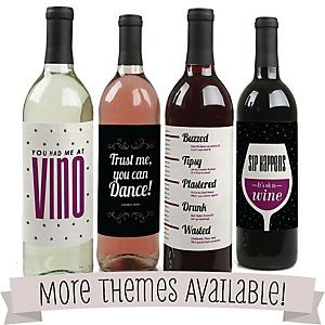 All Wine & Beer Bottle Labels