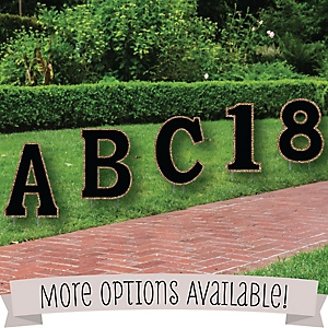 Yard Sign Letters & Numbers