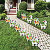 Fa La Llama - Lawn Decorations - Outdoor Christmas and Holiday Party Yard Decorations - 10 Piece