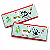 Fa La Llama - Personalized Candy Bar Wrapper Christmas and Holiday Party Favors - Set of 24