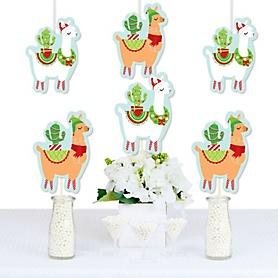 Fa La Llama - Decorations DIY Christmas and Holiday Party Essentials - Set of 20