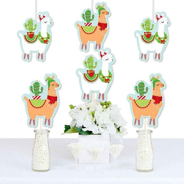Fa La Llama - Decorations DIY Christmas and Holiday Party Essentials - Set of 20