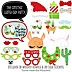 Fa La Llama - 20 Piece Christmas and Holiday Party Photo Booth Props Kit