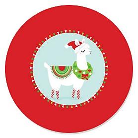 Fa La Llama - Christmas and Holiday Party Theme