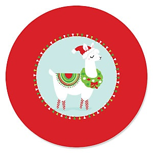 Fa La Llama - Christmas and Holiday Party Theme