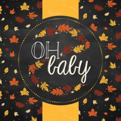 Nice Oh Baby   Fall   Baby Shower Theme