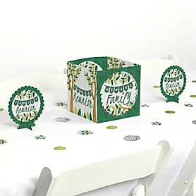 Family Tree Reunion - Family Gathering Party Centerpiece and Table Decoration Kit