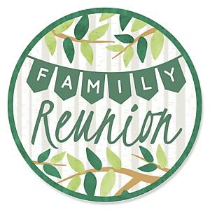 Family Tree Reunion - Family Gathering Party Theme