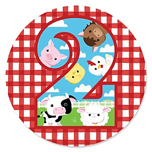 2nd Birthday - Farm Animals - Barnyard Second Birthday Party Theme