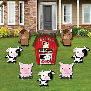 Farm Animals Barnyard Party Theme Bigdotofhappiness Com