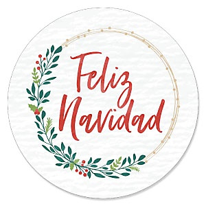 Feliz Navidad - Holiday and Spanish Christmas Party Theme