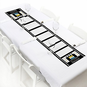 Movie - Hollywood Party - Personalized Red Carpet Party Petite Table Runner