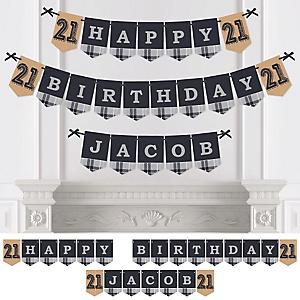 finally 21 21st birthday birthday party theme