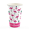Flamingo - Party Like a Pineapple - Hot/Cold Cups - 8 ct