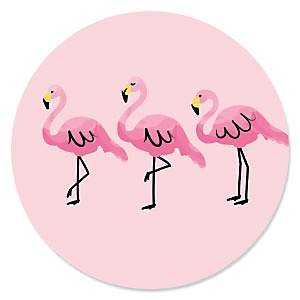 Flamingo - Party Like a Pineapple - Baby Shower Theme