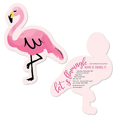 flamingo party like a pineapple shaped birthday party