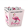 Flamingo - Party Like a Pineapple - Party Mini Favor Boxes - Personalized Party Treat Candy Boxes - Set of 12