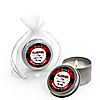 Flannel Fling Before The Ring - Personalized Buffalo Plaid Bachelorette Party Candle Tin Favors - Set of 12