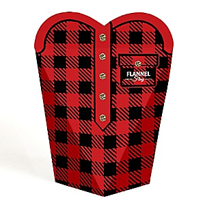 Flannel Fling Before The Ring - Buffalo Plaid Bachelorette Party Favors  - Gift Favor Boxes for Women - Set of 12
