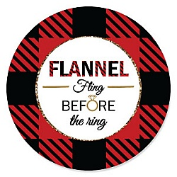 flannel fling before the ring bachelorette party bridal shower theme
