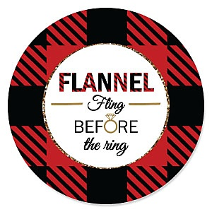 Flannel Fling Before The Ring - Bachelorette Party & Bridal Shower Theme