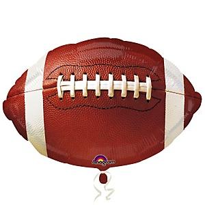 Championship Football - Baby Shower Mylar Balloon