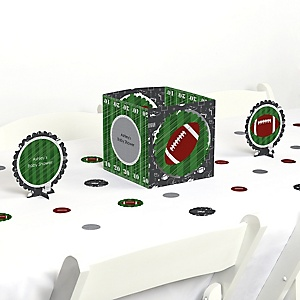 End Zone - Football - Baby Shower Centerpiece & Table Decoration Kit