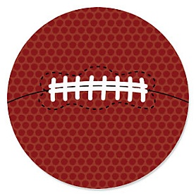 End Zone - Football - Baby Shower Theme