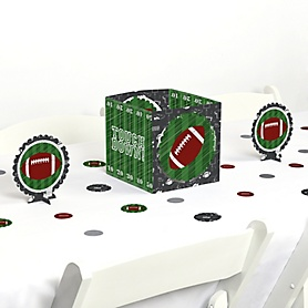End Zone - Football - Baby Shower or Birthday Party Centerpiece and Table Decoration Kit