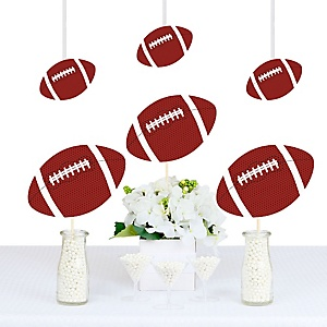 End Zone - Football - Football Decorations DIY Party Essentials - Set of 20