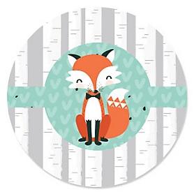 Mr. Foxy Fox - Baby Shower Theme