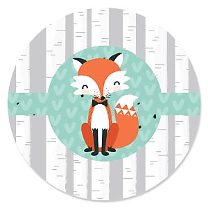Mr. Foxy Fox - Baby Shower Theme