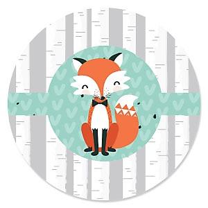 Mr. Foxy Fox - Birthday Party Theme