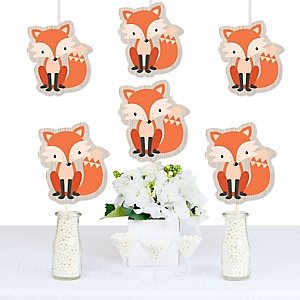 Fox - Decorations DIY Baby Shower or Birthday Party Essentials - Set of 20