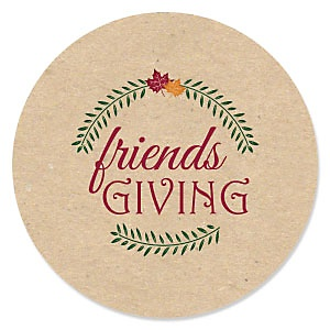 Friends Thanksgiving Feast – Friends Giving Party Theme