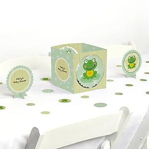 Froggy Frog - Baby Shower Centerpiece & Table Decoration Kit