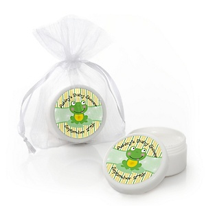 Froggy Frog - Personalized Baby Shower Lip Balm Favors - Set of 12