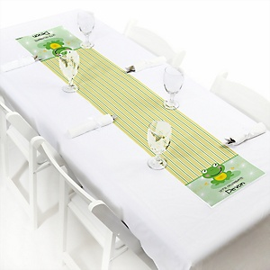 Froggy Frog - Personalized Party Petite Table Runner