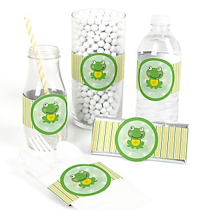 Froggy Frog - DIY Party Wrappers - 15 ct