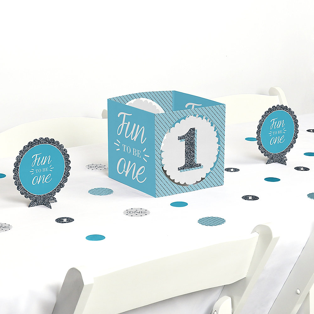 First Birthday Party Centerpiece And Table Decoration Double Tap To Zoom