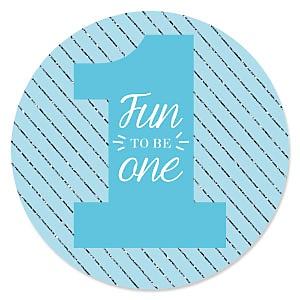 Fun to be One - 1st Birthday Boy - Birthday Party Theme
